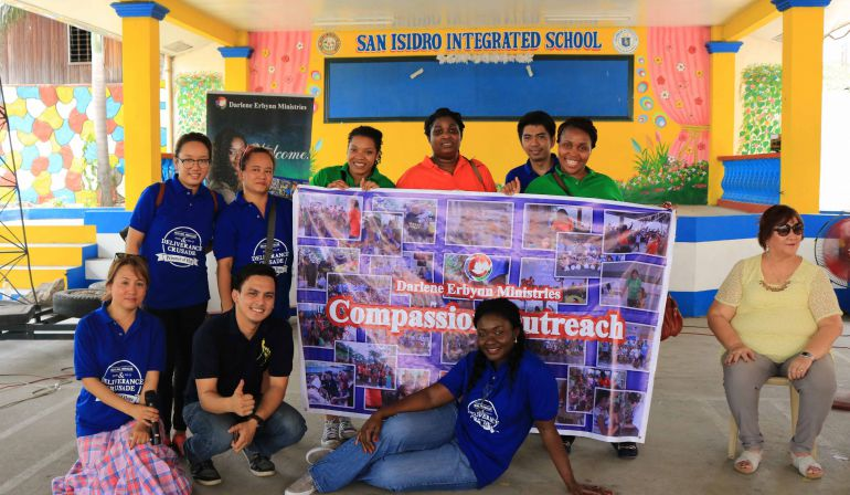 Compassion Outreach to- San Isidro Intergrated School,Philippines April 29, 2017