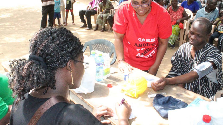 Logba Medical Mission Volta Region Ghana Africa, February 17, 2018