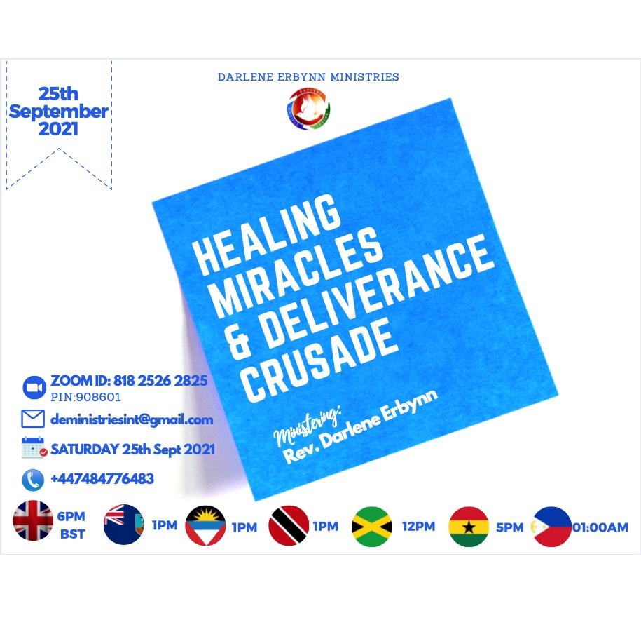 Healing Miracles & Deliverance Crusade
