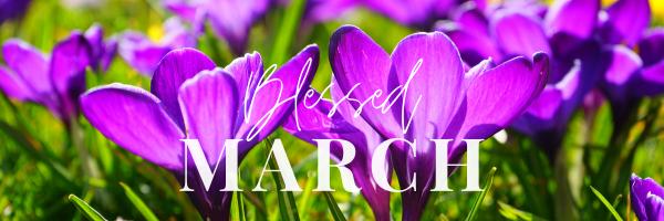 March's Ministry Letter from Rev Darlene